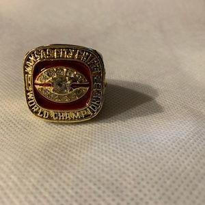 Kansas City Chiefs Fan Ring size 11